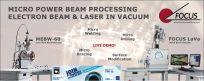Live Demo: Laser im Vakuum und Elektronenstrahl!