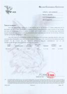 wir haben das zertifikat des dnv-gl farina, abs, ce und ccs