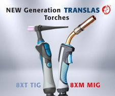 New welding torches from Translas shine in regard to ergonomics and durability