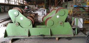 1200 tonne heavy duty welding rotators