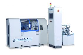 An MTI Spartan Line Direct Drive Rotary Friction Welder