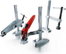 BESSEY machine table clamps BS, BSG and GRS