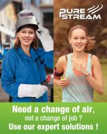 PURE STREAM - a global offer for reducing exposure to fume emission