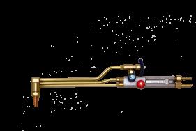 Schneidbrenner für gasemischende Düsen