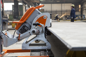 UZ18 Hardworker auto feed bevelling machine