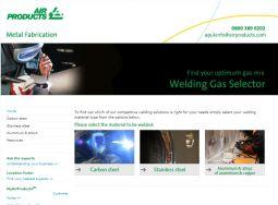 New online tool: Welding gas selector