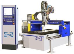 ZINSER 1225 for Plasma, Oxy-fuel and Water Jet Cutting