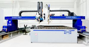 ZINSER 2425/2426 - gantry machine for plasma and oxy-fuel cutting