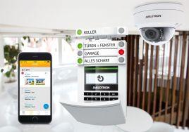 Alarmsystem mit integrierter Videoüberwachung