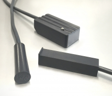 Anthracite-colored Magnetic Contacts and Glass Break Sensors
