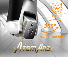 ATOM AR3S - World's First Professional Outdoor Facial-Recognition Auto-Tracking Security Robot