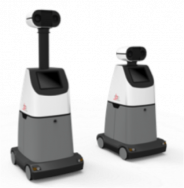 Oneberry RoboGuardTM autonomous security robot powered by EFOY Pro fuel cell