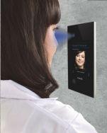 Biometrie-Anwendung öffnet Türen