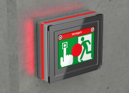 Bus-gesteuerte Rettungswegtechnik an Notausgängen mit ePED