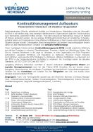 Business Continuity Management Aufbau