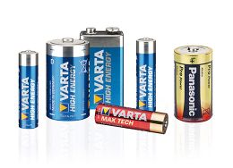 Consumer batteries