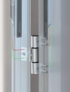 Das erste energie- und signalübertragende Türband - Inductio®