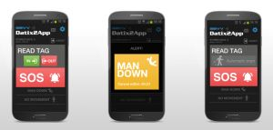 Datix2App - The smartphone solution for guard control