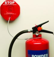 Extinguisher Stopper