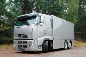 Gepanzerter Werttransporter auf Basis eines LKW