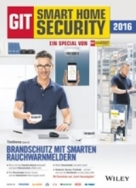 GIT Smart Home Security - Microsite und gedruckt