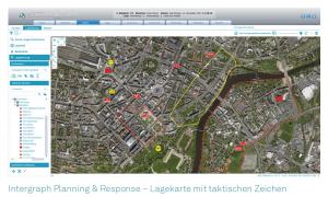 Intergraph Planning & Response - Effektives Lageinformations- und Stabssystem