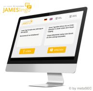 JAMESlingo - real-time translation software specifically designed for reception and logistics