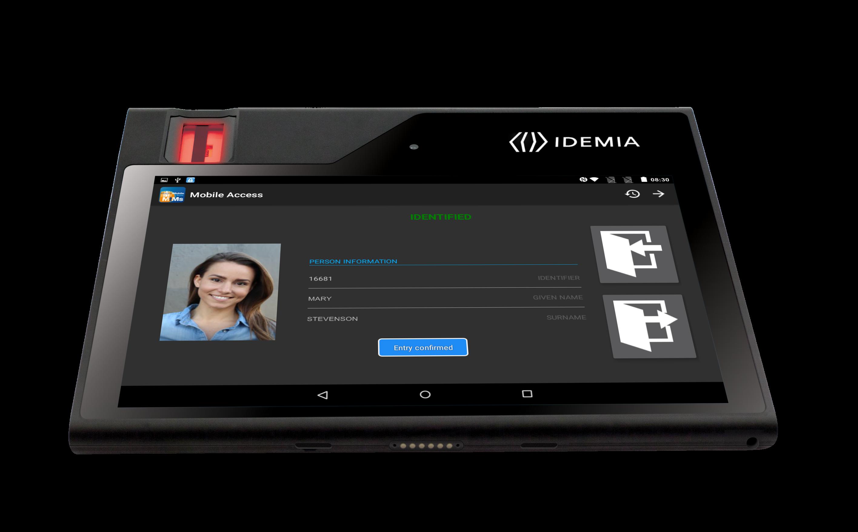 Exhibitor: IDEMIA (previously Morpho) - Access Control   security essen