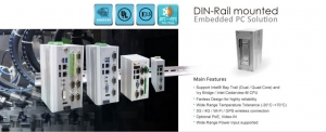 PoE DIN-Rail mounted Embedded System
