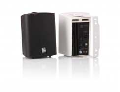 Powered cabinet loudspeakers