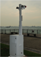 Security Tower mit EFOY Pro 2400 Duo Brennstoffzelle