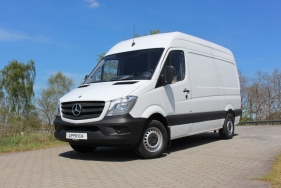 Soft Skin Werttransporter auf Basis Mercedes-Benz Sprinter