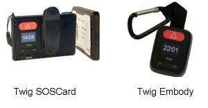 SOSCard und Twig Embody