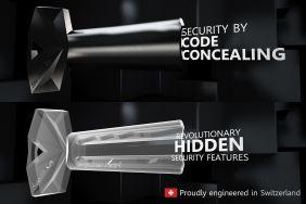 Der Stealth.Key: Der weltweit erste Schlüssel mit unsichtbarer Codierung.