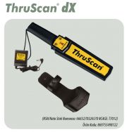 ThruScan® dX Hand Held Metal Detector