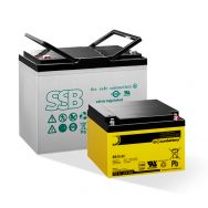 VdS approved lead-acid batteries