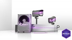 WD-Purple™-Festplatte für Überwachungssysteme