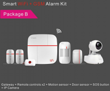 Wireless Smart Home Alarm Kit with 868Mhz and Alarm Monitoring System