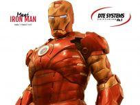 Der Iron Man an unserem Stand