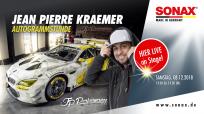 """SONAX Markenbotschafter """"J.P."""" Jean Pierre Kraemer"""