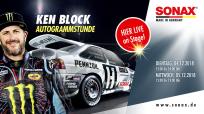 SONAX Markenbotschafter Ken Block