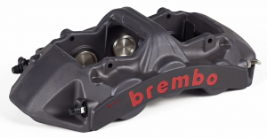 Brembo Trackday M6 und M4 Bremssättel