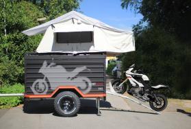 CAMPWERK BIKE Motorrad-Faltcaravan