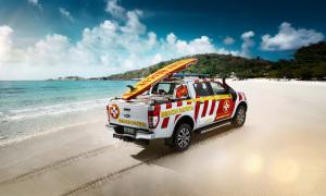 Sportliche Serienmodelle, faszinierende Motorsportlegenden und das Ford Ranger Great Barrier Reef Beach Patrol Showcar