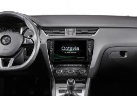 Nachrüst-Infotainment mit 9-Zoll-Display für den ŠKODA Octavia