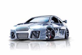 Silver V8 Sport