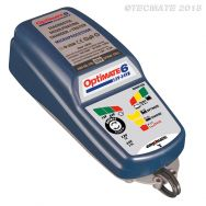 TM194, OptiMATE 6, 12V-24V 8-stufiges 5A 12V / 2.5A 24V Batterierettungs, -lade-, -test-, -wartungsgerät