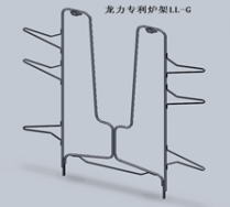 LL-G tubular wicket for metal printing oven to improve the scratch issue