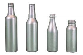 Neuer Trend: Leichte Getränkeflaschen aus Aluminium