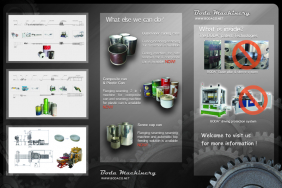 Blechdose Herstellung Maschine Produktionslinie
